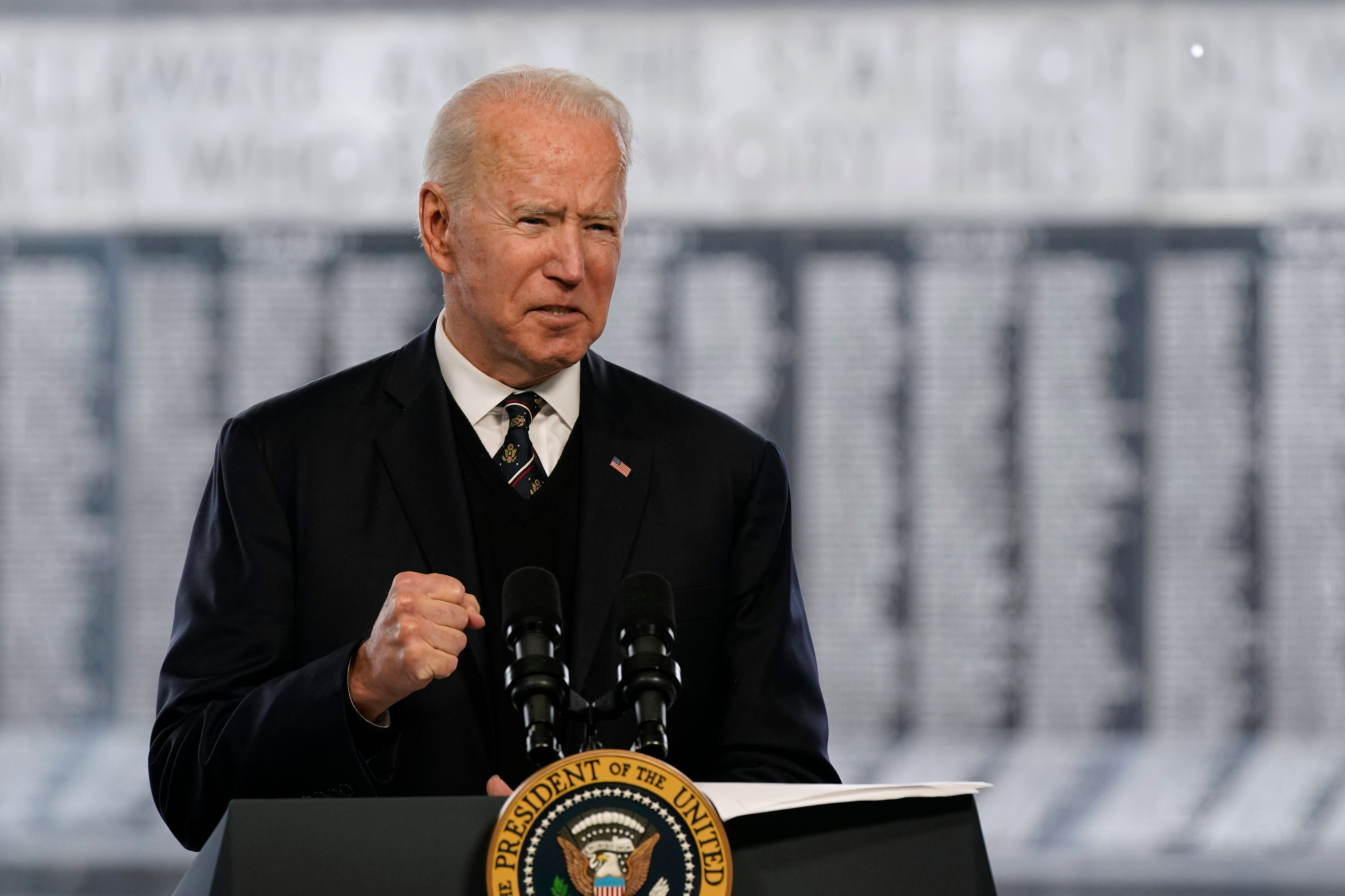 For Biden, a deeply personal Memorial Day weekend observance 2