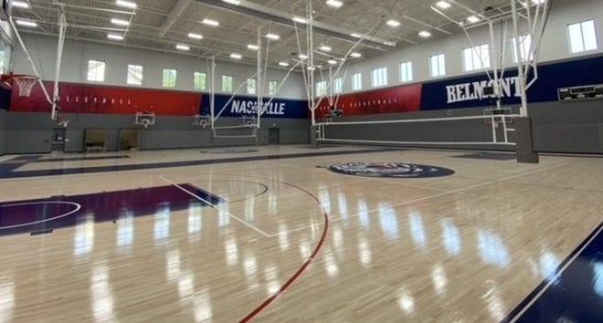 Belmont's new Crockett Center for Athletic Excellence was opened last week.