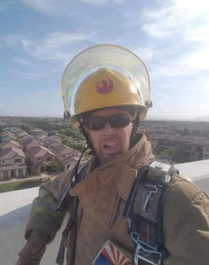 Superior Fire Department firefighter Sean Sparling died after a battle with leukemia on Saturday, May 29, 2021.
