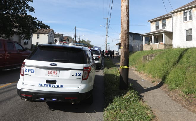 The Zanesville Police Department is investigating a Saturday shooting at 1367 Maysville Pike.