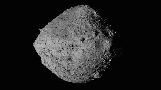 Se espera que cinco asteroides pasen por la Tierra del 31 de marzo al 2 de junio.  (NASA / Goddard / Universidad de Arizona / Agencia Espacial Canadiense / York / MDA vía AP) ORG XMIT: NY792