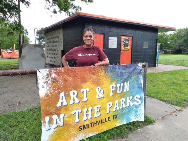 The Smithville Chamber of Commerce, in partnership with the Smithville Public Library, has been hosting a series of Art and Fun in the Parks since April.