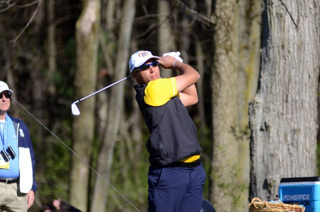 Former Walsh Jesuit and Kent State golfer Chase Johnson is playing this season on the Korn Ferry Tour but received an invitation to play this week at the Memorial Tournament at Muirfield Village. (Photo courtesy Kent State University)