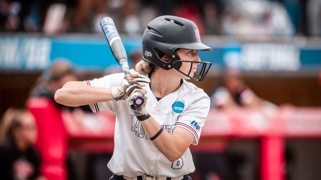 Shannah McBroom kept up her red-hot postseason form with a two-run home run in the fourth inning as WT won game two 7-4 of the NCAA Division II Championship Series at the Regency Athletic Complex.