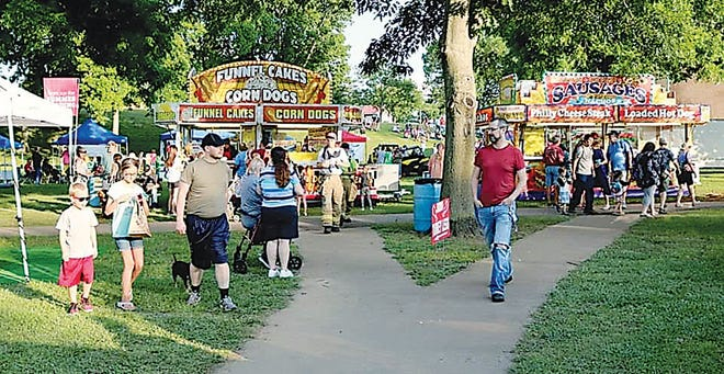 Sunfest offers food, music and fun at Sooner Park in Bartlesville.