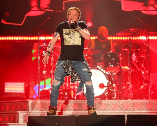 Guns N' Roses will perform Sept. 23 at Value City Arena.
