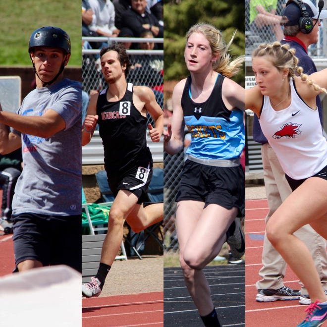 All-area track team selections