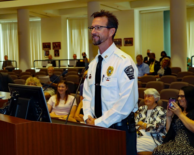 Andrew Ethridge was confirmed as Beach Safety director by the Volusia County Council on June 1, 2021.