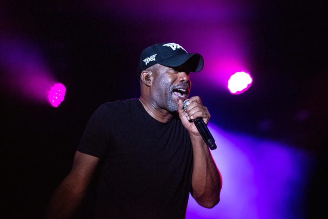 Darius Rucker will perform a concert at Daily's Place as part of the Furyk & Friends golf tournament. Tickets are $75, which includes admission to the tournament.