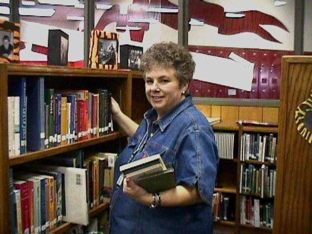 Becky Whitt Ice, who recently won the 2021 Tiger's Eye award, served as a library for the Glen Rose ISD schools for 35 years.