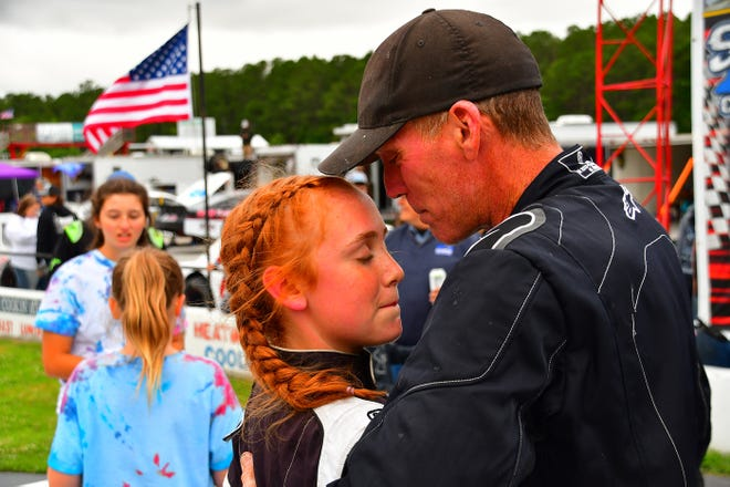It was a special night Sunday for the Sullivan family at Carteret County Speedway.