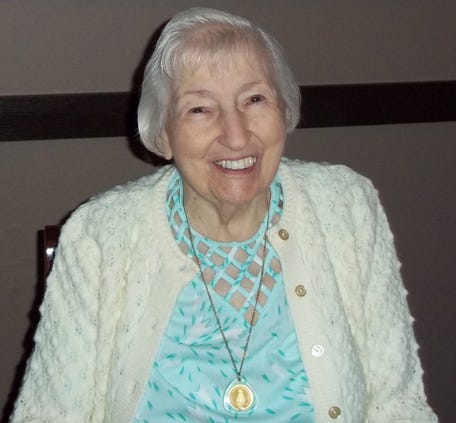 Freeport resident Irene Gralewski, pictured 10 years ago as she celebrates her 90th birthday, turned 100 on Tuesday, June 1, 2021.