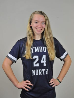 Megan Banzi of Plymouth North High has been named to The Patriot Ledger All-Scholastic Girls Soccer Team.