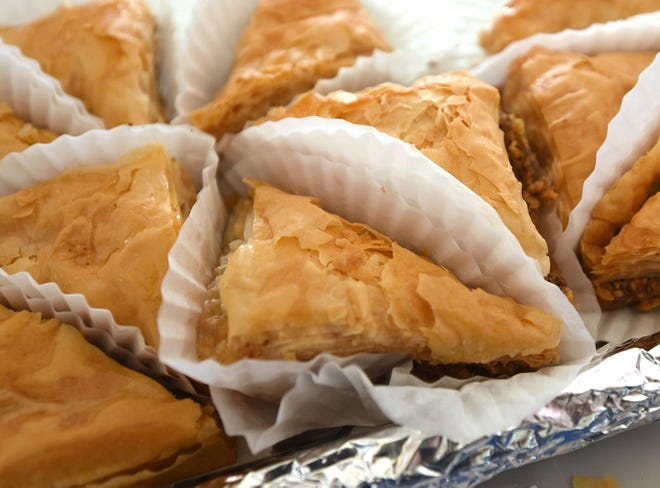 Baklava is among many pastries offered at the Greek Festival To Go.