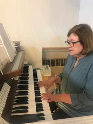 Joy Cushman said she was drawn to the sound of the organ and has dedicated her life to providing inspirational worship music to the congregation of Shelby Presbyterian Church.