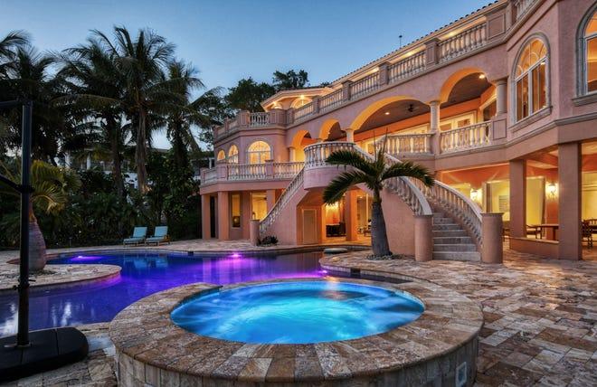 A Longboat Key mansion sold for $10.15 million.