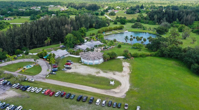 Phase One of the Warm Mineral Springs Park master plan includes restoration of the three structures built for the 1959 state of Florida quadricentennial celebration. Those structures and the springs itself are part of the National Register of Historic Places.