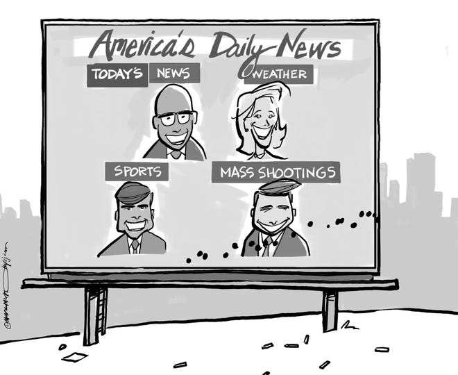 Mass shootings a daily part of American life now