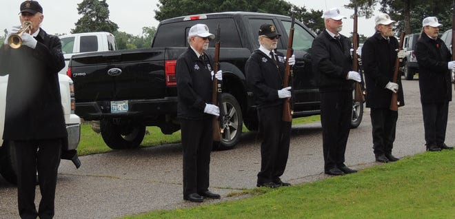 VFW 1317 Honor Guard at Fairview Cemetery Monday, May 31, 2021.
