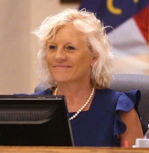 New Hanover County Commissioner Chairwoman Julia Olson-Boseman