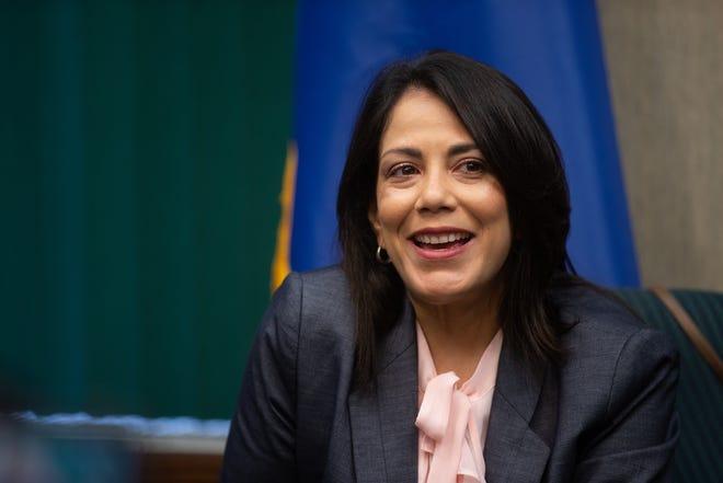 Topeka Mayor Michelle De La Isla said she found the dream job she didn't know existed.