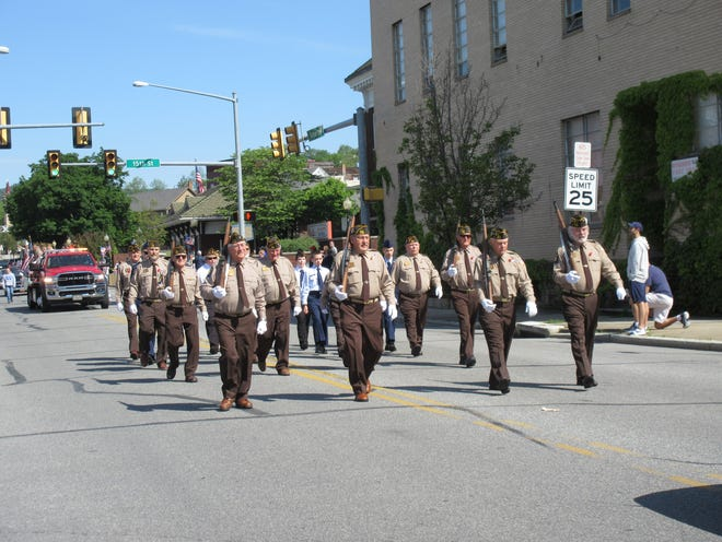 A number of veterans took part in the parade to kick off the Memorial Day observance in Windber on Monday.