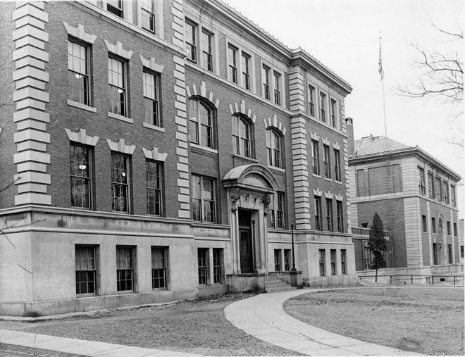 This photo dates to September 1967, when school officials were considering the conversion of South High into a junior high.