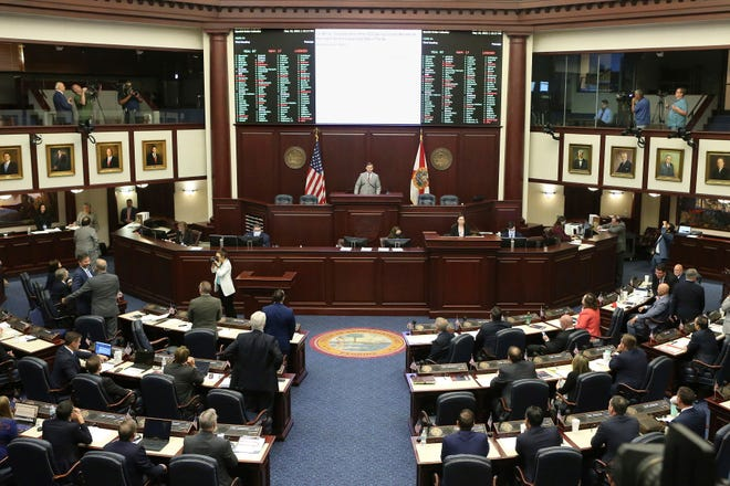 The Florida House meets on May 19 in Tallahassee.