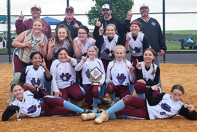 The 12U PAL Enforcers softball team, based in Hagerstown, went 3-0 to win the Central PA Memorial Day NIT tournament in Chambersburg, Pa.