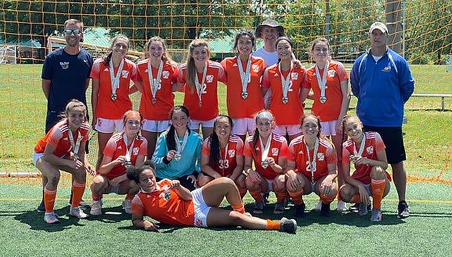 The Franklin Spirit girls U16 soccer team won the Virginia Elite Tournament in Springfield, Va., over Memorial Day weekend.