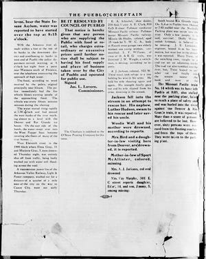 The second page of the extra edition featured uncharacteristic white space, a testament to how hastily the edition was assembled.