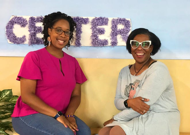 DeAndra Harrison (left) and Karriejoi Coit are the incoming and departing directors, respectively, of the Unity Community Center, 50 Ross St. Coit is leaving the director's post to become an executive board member.