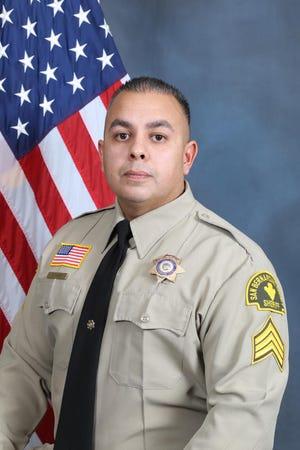 San Bernardino County Sheriff's Department Sgt. Dominic Vaca.