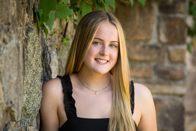 Samantha Streton is valedictorian for the Oliver Ames High School Class of 2021.