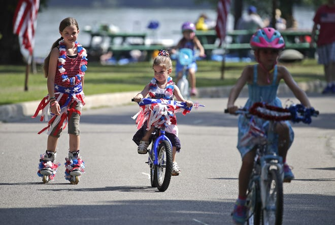 CommunityFest in Neenah and Menasha will return July 3 and 4 after a year absence due to the coronavirus pandemic. The celebration includes the Fox Cities Morning Rotary Club Kids Red, White & Blue Parade at Riverside Park in Neenah.