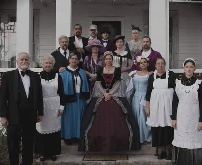 """Filmed with Brevard actors, the murder mystery """"Murder at Turglas Abbey,"""" set at Green Gables, will be shown at CWTheaters West Melbourne at 6 p.m. Saturday, June 5."""