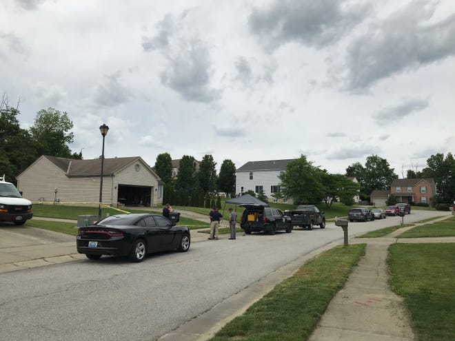 Officers from the Kentucky State Police are on the scene of an officer-involved shooting in Independence, Kentucky, on Tuesday that left one man dead.