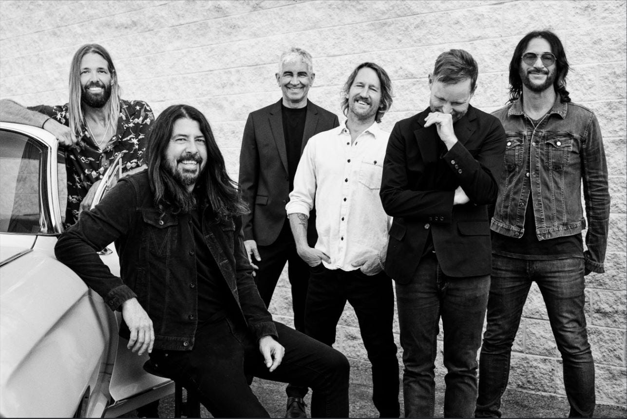 Foo Fighters reopen Madison Square Garden in first full-capacity NY show since COVID
