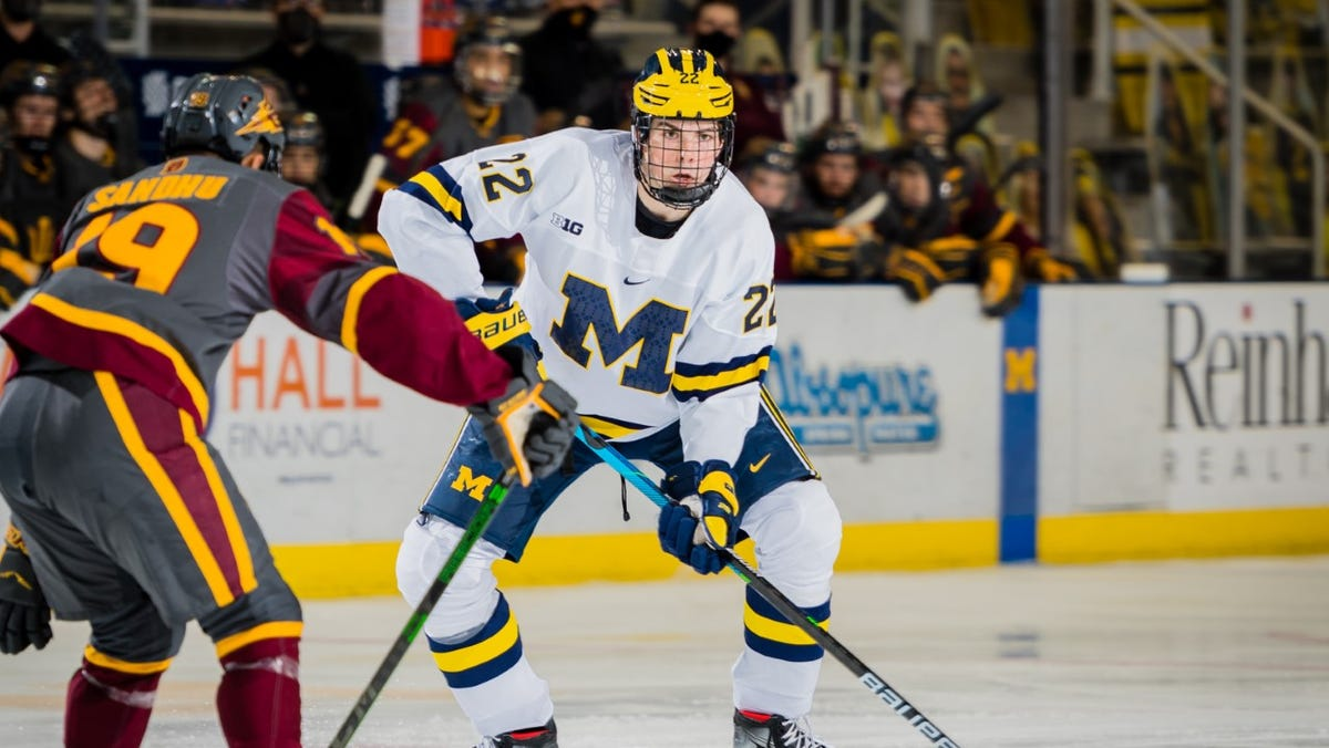 Michigan hockey, stuffed with NHL talent, has renewed purpose after abrupt end to last year