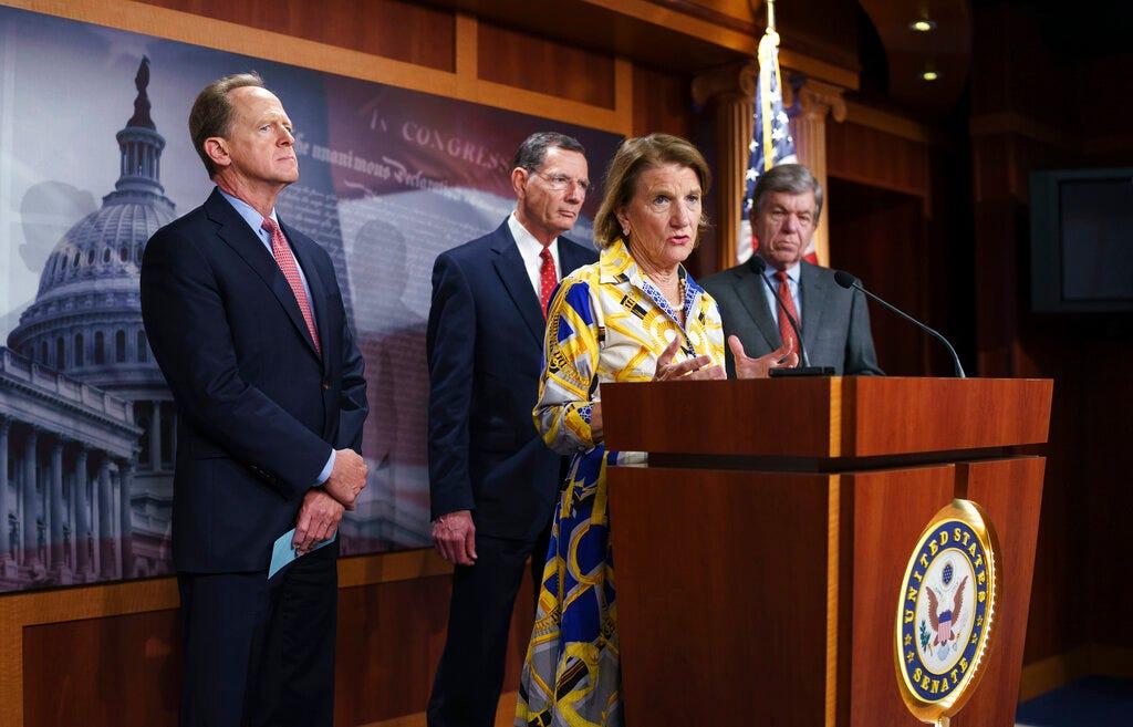 Biden invites GOP senator as infrastructure deadline looms 2