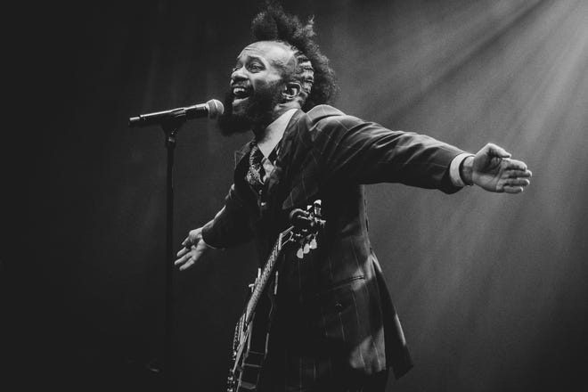 Fantastic Negrito performs in a photo provided by Parksfest. The songwriter, who won the Grammy for Best Contemporary Blues Album three times, will headline Parksfest on Oct. 2, 2021, at Garvin Park.