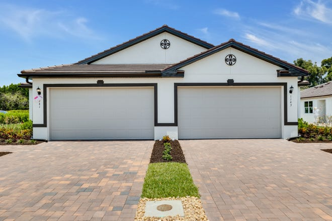 Canterbury model home