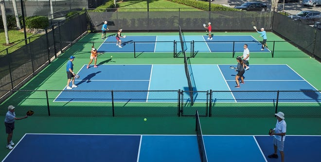 In response to increased member demand, Vineyards Country Club officials recently announced the addition of three new championship pickleball courts, an increase of 100%, within its racquet center.