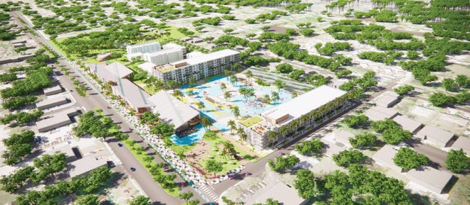 The entertainment and attractions will set Cabana Resort apart from other developments and distinguish it as a year round destination for the day, a weekend or vacation getaway.