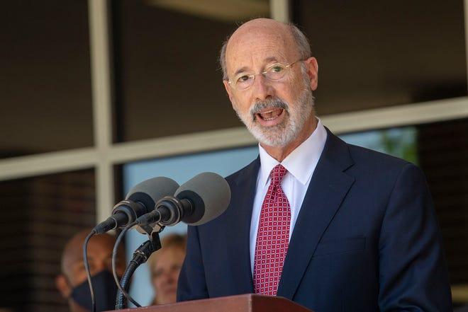 Gov. Tom Wolf said some of the provisions targeted by GOP lawmakers are outside the scope of the disaster declaration. That includes the power to close businesses and to set maximum occupancy limits.