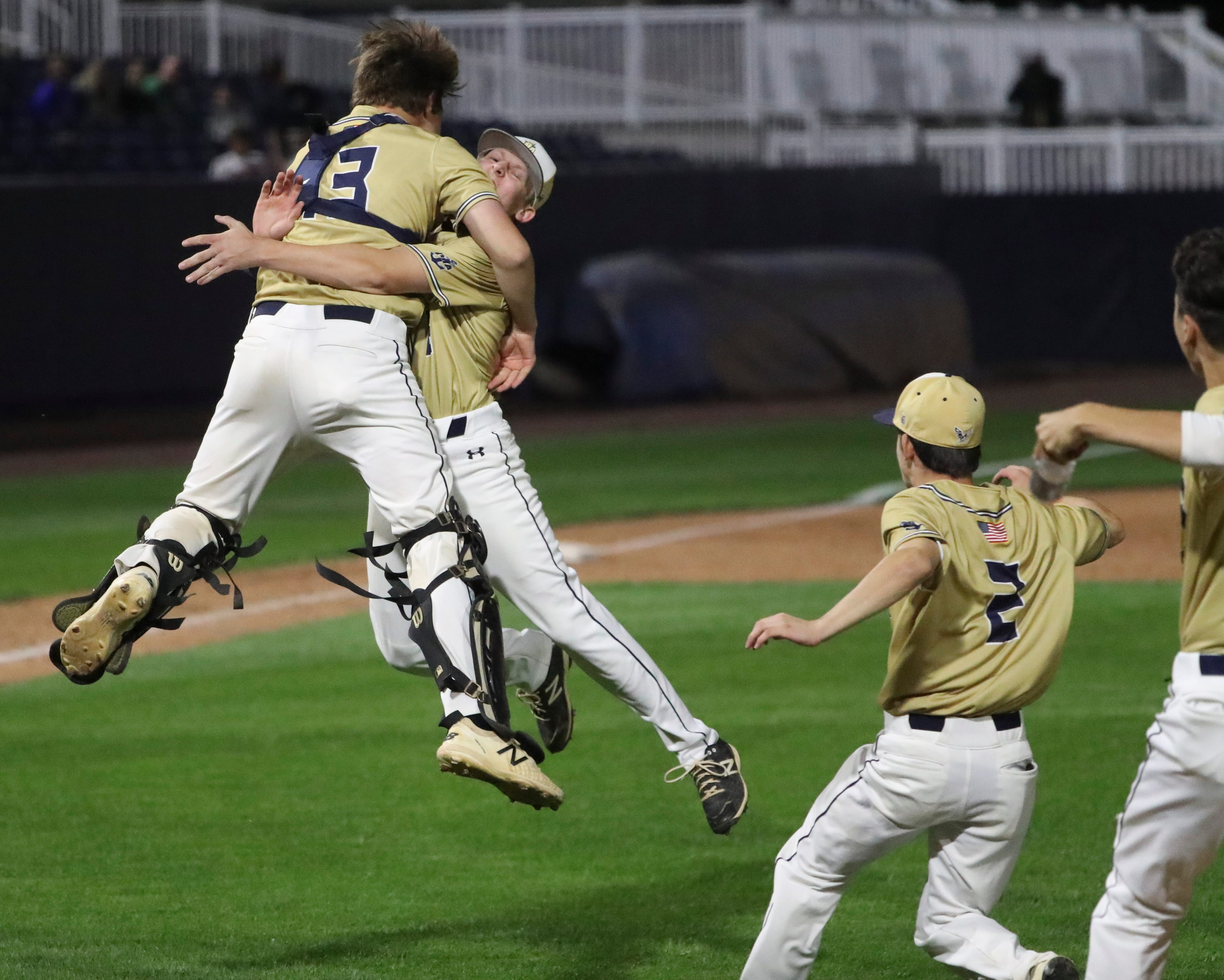 Delaware Military Academy makes DIAA baseball history, beats Appoquinimink for title