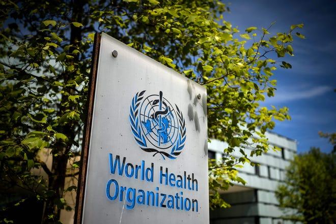 World Health Organization headquarters in Geneva, Switzerland, on May 8, 2021.