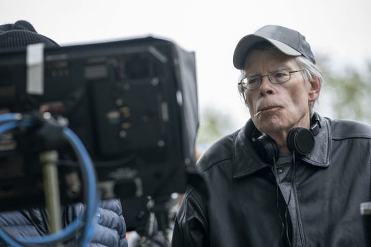 """As an executive producer and writer, Stephen King was a regular presence on the set of """"Lisey's Story."""""""