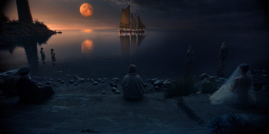"""The Boo'ya Moon is a fantasy world from Stephen King's mind given life in """"Lisey's Story."""""""
