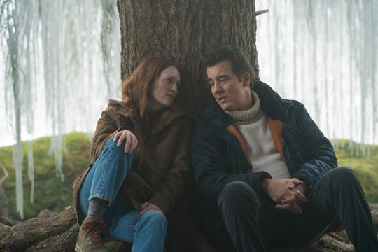 """Lisey (Julianne Moore) goes on a supernatural scavenger hunt of sorts for repressed memories of her late husband (Clive Owen) in Stephen King's """"Lisey's Story."""""""